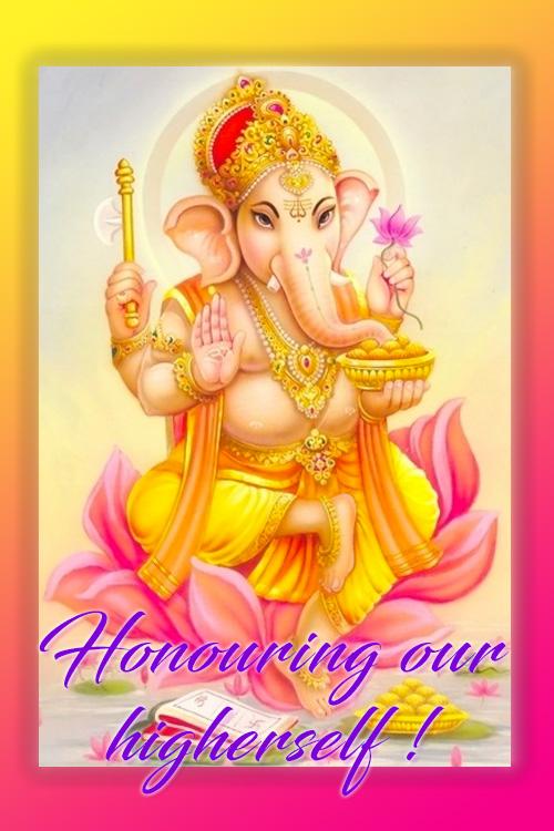 Honor & celebrate the birth of Lord Ganesha