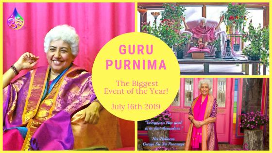 The Biggest Event of the Year -Guru Purnima